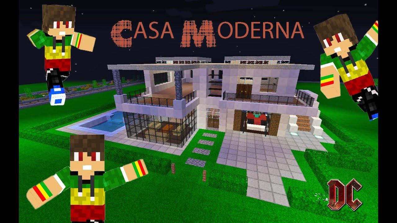 Tutorial de como hacer una casa moderna minespazio server for Como disenar una casa moderna