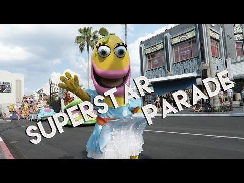 SUPERSTAR PARADE - UNIVERSAL STUDIOS ORLANDO - FULL SHOW 2016