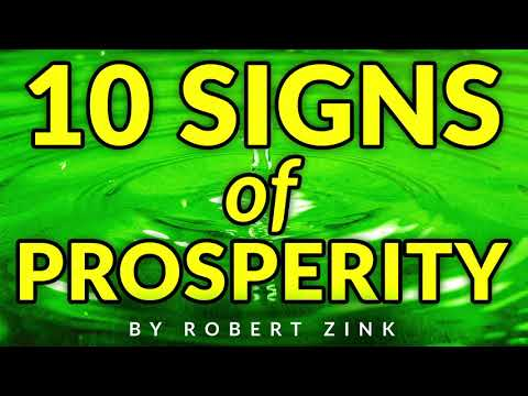 10 Signs Prosperity is Coming Your Way - Make More Money NOW!