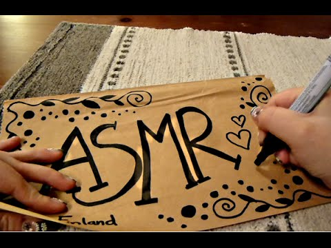 The Most Relaxing Tingly Thick Marker Doodling ASMR Sounds Ever!