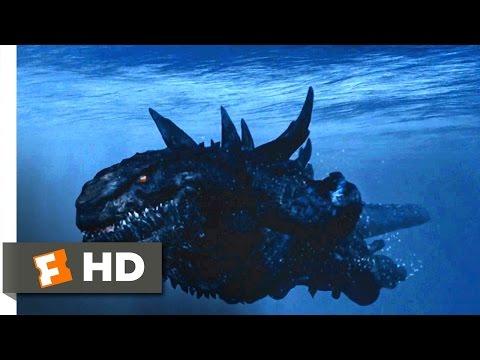Godzilla (1998) - Godzilla Vs. Submarines Scene (6/10)   Movieclips