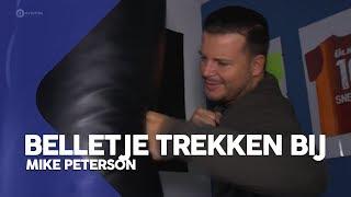 De boksbal van Mike Peterson | Belletje trekken bij Mike Peterson