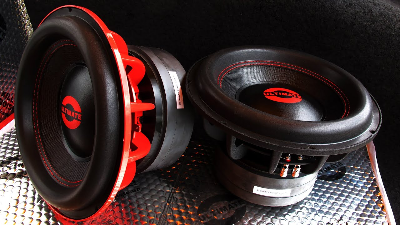 Ultimate Audio Professional Car Audio System Drop The Bass