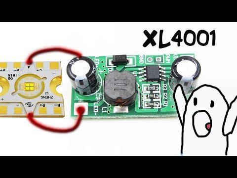 Светодиодный драйвер на XL4001