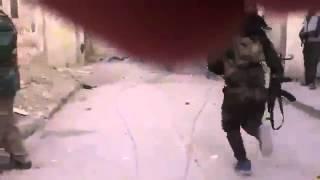 Война в Сирии 2014 Один снайпер Асада против армии террора