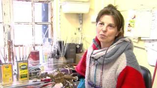 Artisanat : rencontre avec une souffleuse de verre