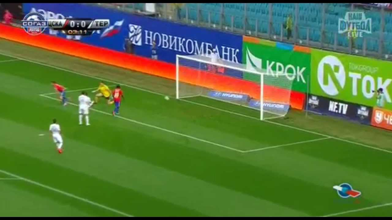 CSKA Moscow 1-0 Terek Grozny