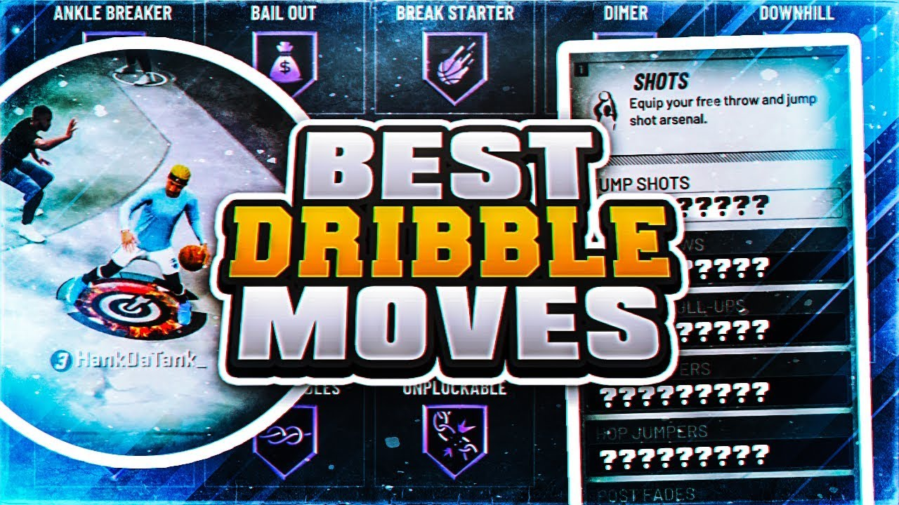 Hankdatank Best Dribble Moves Combos In Nba 2k20 How To Become A Dribble Gawd In Nba 2k20 Youtube