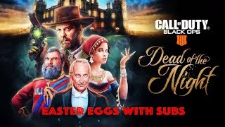 Easter Eggs with Subs (DOTN & IX)- BO4  Zombies - Call of Duty: Black Ops 4