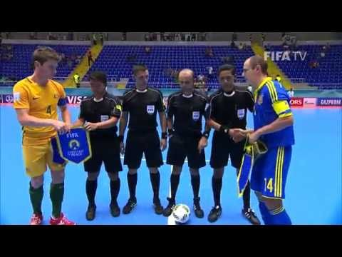 Match 31: Australia V Ukraine - FIFA Futsal World Cup 2016