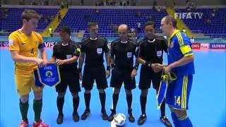 Match 31: Australia v Ukraine - FIFA Futsal World Cup 2016(Watch highlights of the Australian and Ukrainian futsal teams, who played a great match at the Futsal World Cup in Colombia. MORE COLOMBIA 2016 MATCH ..., 2016-09-17T23:49:56.000Z)