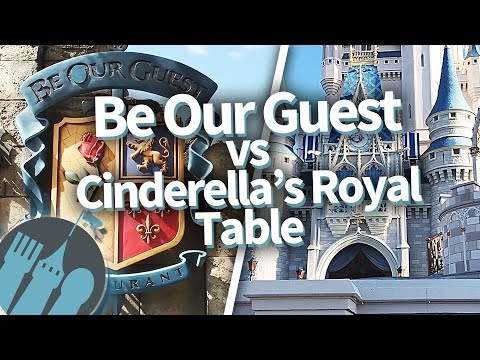 Be Our Guest Restaurant vs. Cinderella's Royal Table: Which Disney World Restaurant?