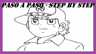 Como dibujar a Benji Price l How to draw Benji Price l Los Super Campeones