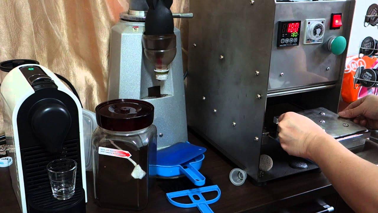 Пустые капсулы для Nespresso кофе за 10 секунд - YouTube