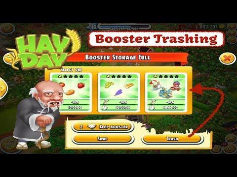 Hay Day - Booster Trashing