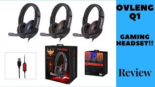Cheap Gaming Headset Review-Ovleng Q1