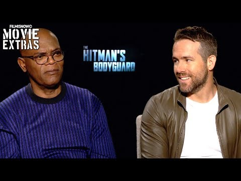 The Hitman[ES][SQ]s Bodyguard (2017) Ryan Reynolds & Samuel L. Jackson talk about the movie