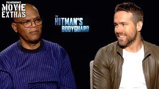 Video The Hitman's Bodyguard (2017) Ryan Reynolds & Samuel L. Jackson talk about the movie download MP3, 3GP, MP4, WEBM, AVI, FLV November 2017