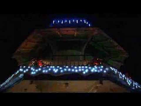 Historic Oxnard,CA Bandstand Comes to Life for the Holidays