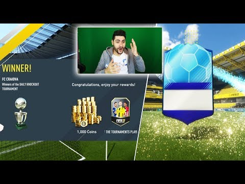 Winning A NEW FANTASTIC Team Of The Tournament Player - FIFA 17 TOTT ITEM UNLOCKED !!!