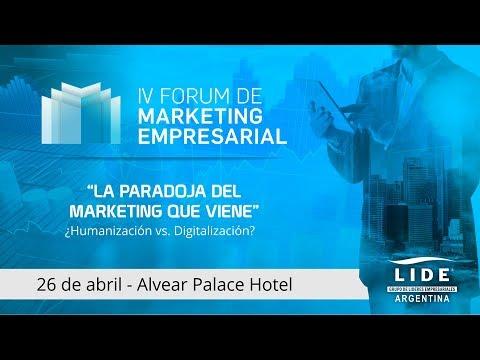 DEBATE TALK - IV FORUM DE MARKETING EMPRESARIAL - LIDE Argentina