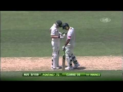 Ricky Ponting - 134 and 221 Thrashes India to a 4-0 Whitewash 2012