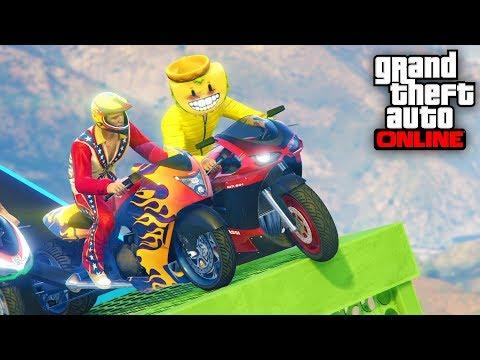 ACCIDENTE DE MOTOS!! - CARRERA GTA V ONLINE - GTA 5 ONLINE