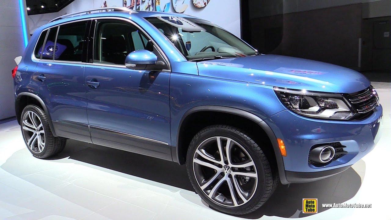 2017 Volkswagen Tiguan Sel 4motion Exterior And Interior Walkaround 2016 La Auto Show You