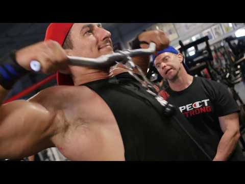 Sadik Trains Delts 15 Weeks Out Olympia