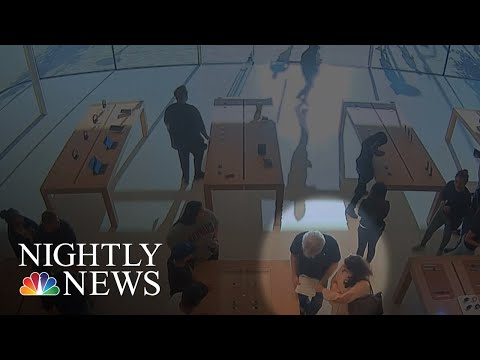 $30,000 Worth Of Apple Products Stolen From Bay Area Store | NBC Nightly News