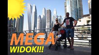 Dubaj 2018 - VLOG z dziećmi - Spacer po Dubai Marina, śpiew wśród drapaczy chmur