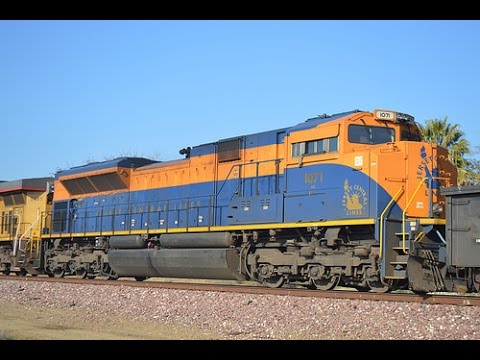 Bay Area and Central Valley Railfanning - UP 1989, NS 1071 Central RR of NJ, and More
