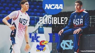 LaMelo Ball WANTS To Play For The NCAA! But Will He Be ELIGIBLE? | Duke, Kentucky, Kansas, Etc..
