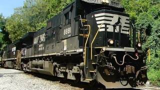 Norfolk Southern Hummer Train on CSX Old Main Line