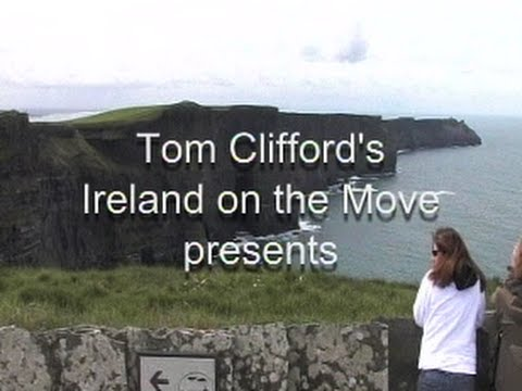 Ireland On The Move, your host Tom Clifford