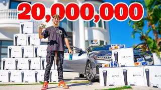 20,000,000 SUBSCRIBERS. (THE BÏG GIVEAWAY)