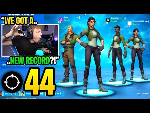 We created a DEFAULT SKIN squad and got our HIGHEST KILL RECORD in Fortnite... (shocking)