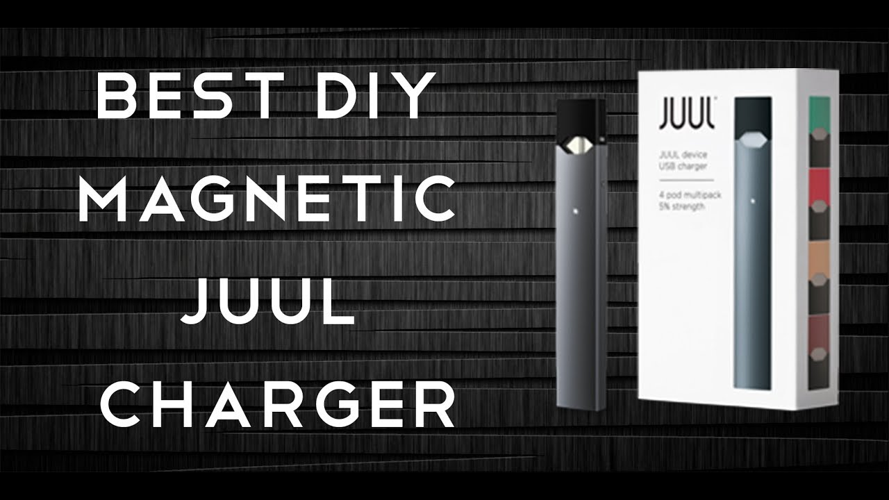 BEST DIY MAGNETIC JUUL CHARGER!!!