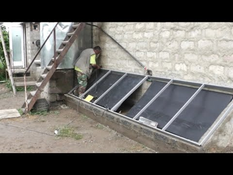solar room heating, EMAS do it yourself