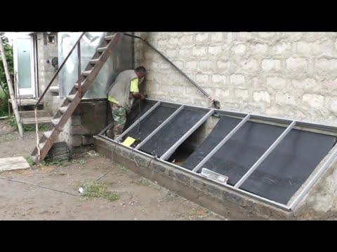 solar room heating, EMAS do it yourself