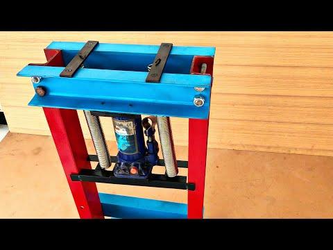Wow Making Hydraulic Jack Press Machine