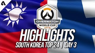Taiwan Vs Finland | Overwatch World Cup 2018 Incheon Qualifier Day 3