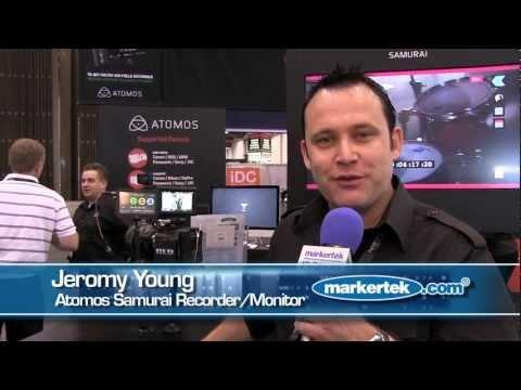Atomos Samurai 10-Bit HD/SD-SDI Field Recorder Monitor and Playback & Playout Device
