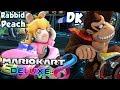 ABM: Mario Kart 8 Deluxe Match !! Rabbid Peach Vs Donkey Kong !! RACE & BATTLE !! HD