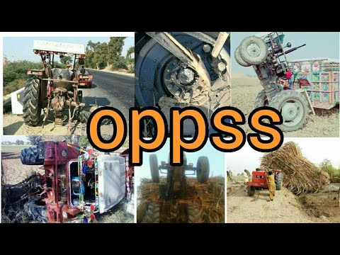 funny wtf movements with tractors