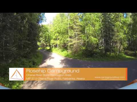 Rosehip Campground, Chena River State Recreation Area, Fairbanks, Alaska