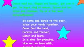 CaramellDansen Swedish/English lyrics