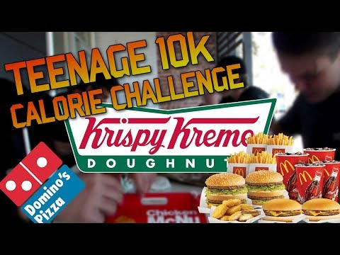 TEENAGE (15&16) 10K CALORIE CHALLENGE ATTEMPT!!