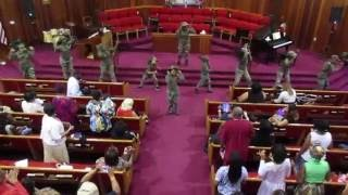 """War"" Praise Dance by Zion Praise Dancers (at ADEBCPB16)"