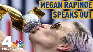 Megan Rapinoe Says She's 'Too Busy' For White House After World Cup Parade Through Canyon of Heroes